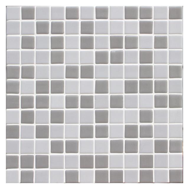 мозаика стеклянная 31,7х31,7х0,4 HomeDecor Grey, серая
