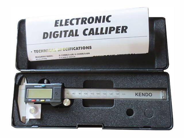 штангенциркуль цифровой KENDO 150мм 0,02мм