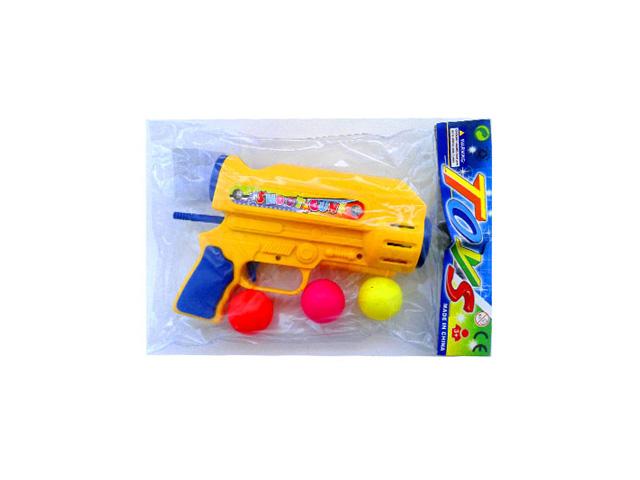 игрушка Пистолет помповый с шарами