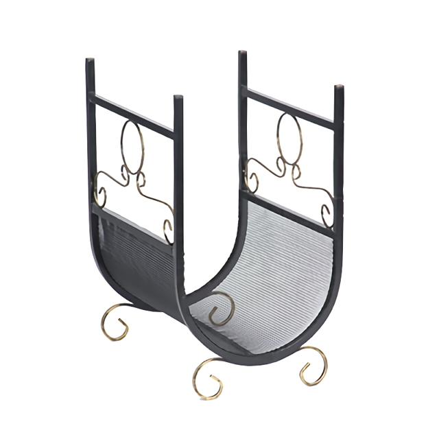 подставка д/дров V7191/1 57x36x43см черный с золотом croci свитер д с чёрный алмаз 30 см чёрный