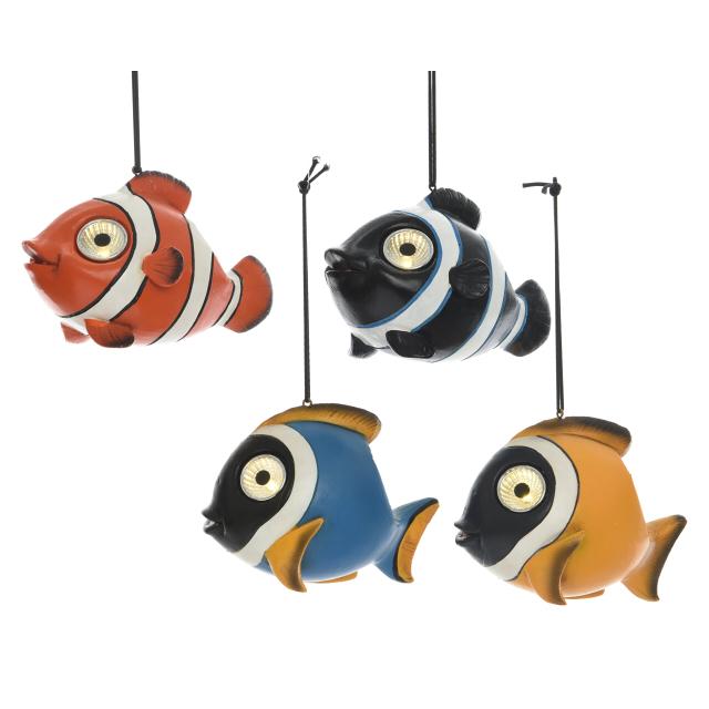 светильник садовый Рыбка 13см в асс-те садовый хозблок в спб