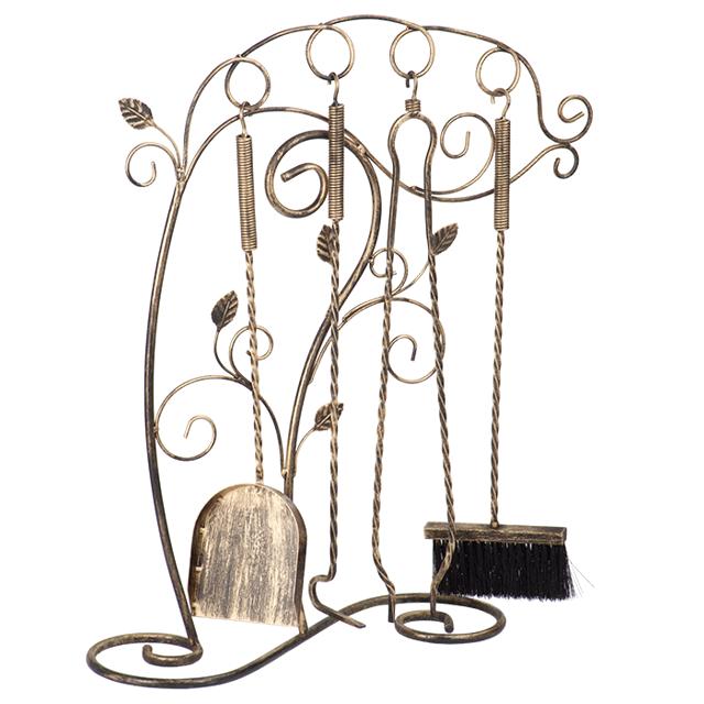 аксессуары д/камина V7127/1 68x49x17см черный с золотом кронштейн д аксессуаров v7116 1 31х37х21см черный с золотом