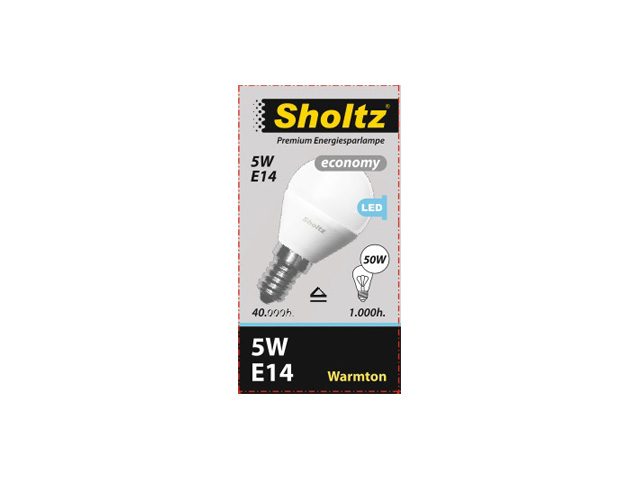 лампа светодиодная 5Вт E14 220В шар SHOLTZ 3000К лампа светодиодная eglo e14 5вт 220в 2700 6500k 11672