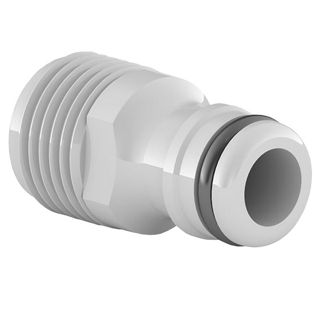 адаптер CELLFAST Ideal 1/2 внешняя резьба пластик