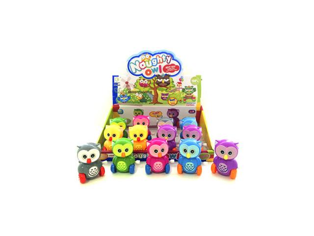 игрушка Сова заводная игрушка заводная автомобили 6см