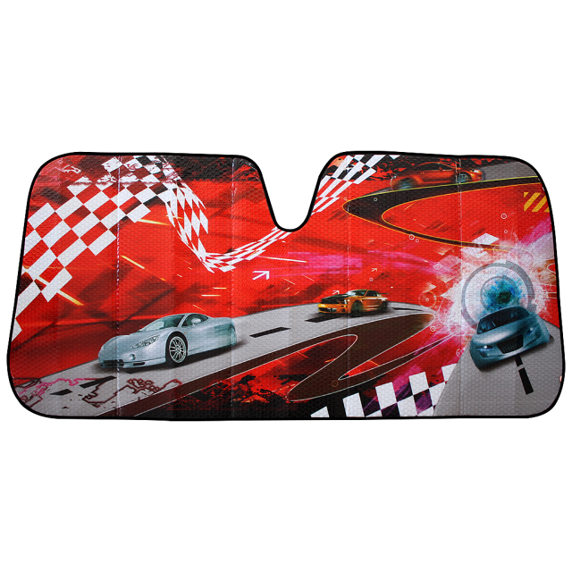 шторка солнцезащитная AUTO STANDART на лобовое стекло 146х68см гоночная трасса kioki шторка солнцезащитная на заднее стекло 100 50 см kioki cf29