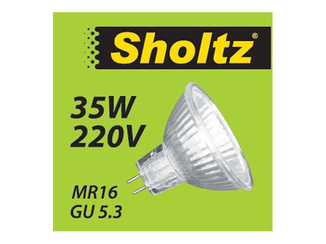 лампа галогенная 35Вт GU5.3 MR16 220В SHOLTZ osram gy6 35 12в 35вт 3000k 364629