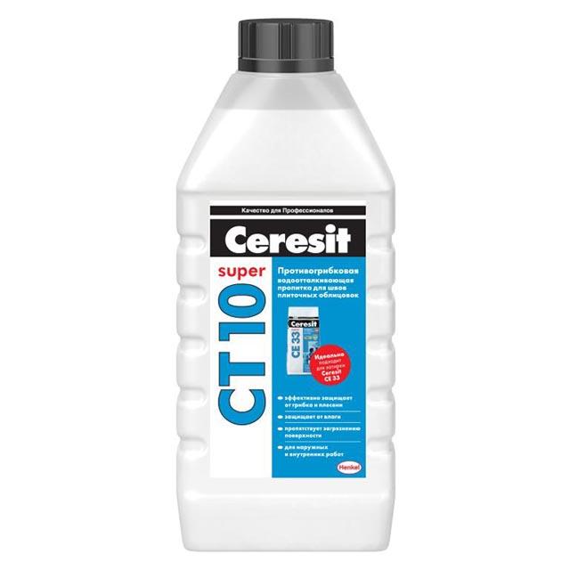 гидрофобизатор CERESIT CT 10 противогрибковый 1л, арт.1060333