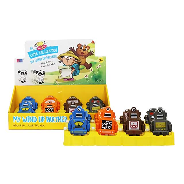 игрушка мини-робот заводной 8х4х10см hap p kid игрушка робот red revo 3578t