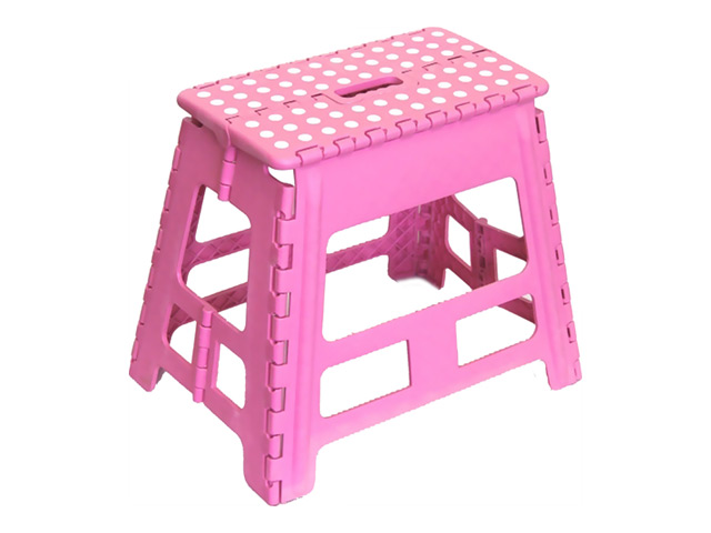 стул складной, 46х33х40 см, пластик [супермаркет] bei sesi jingdong толстый пластиковый складной стул портативный стул большой ванной