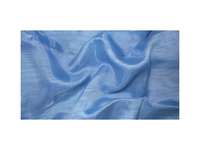 штора тюлевая на шт.ленте 300х265см ТАС═Полуорганза синяя