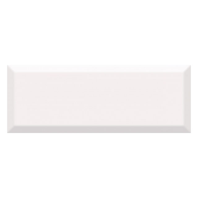 плитка настенная 15х40 ВИЛЛАНЕЛЛА грань, белый бордюр настенный 40х3 вилланелла белый