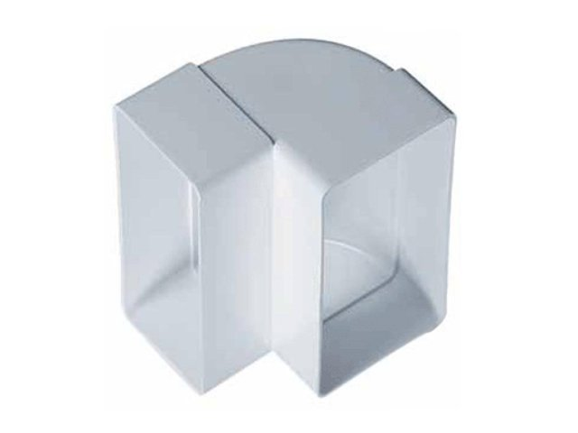 колено вертикальное AWENTA 55х110мм пласт белый
