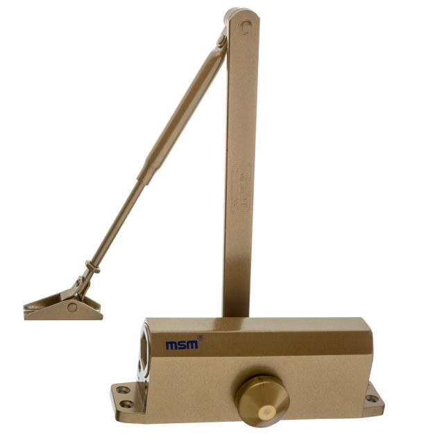 доводчик дверной MSM морозостойкий 50кг коричневый дверной доводчик apecs dc 23 40 65 m sl 00018916