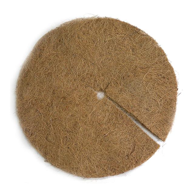 диск кокосовый, мульчирующий, диаметр 30 см