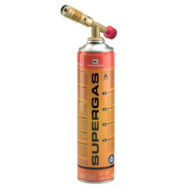 лампа паяльная KEMPER 1047SC + баллон 575 Supergaz 600мл