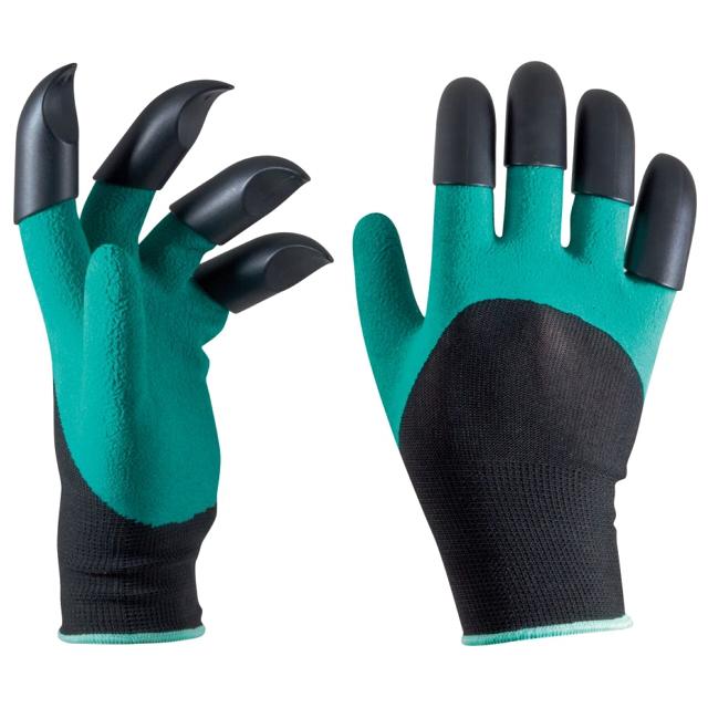 перчатки PARK латекс/полиэстер/пластик 8 когтей перчатки park полиэстер полиуретан размер m