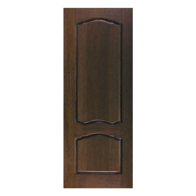 купить полотно дверное ТПГ/Р-8 глухое шпон дуба тем.лак по цене 6475 рублей