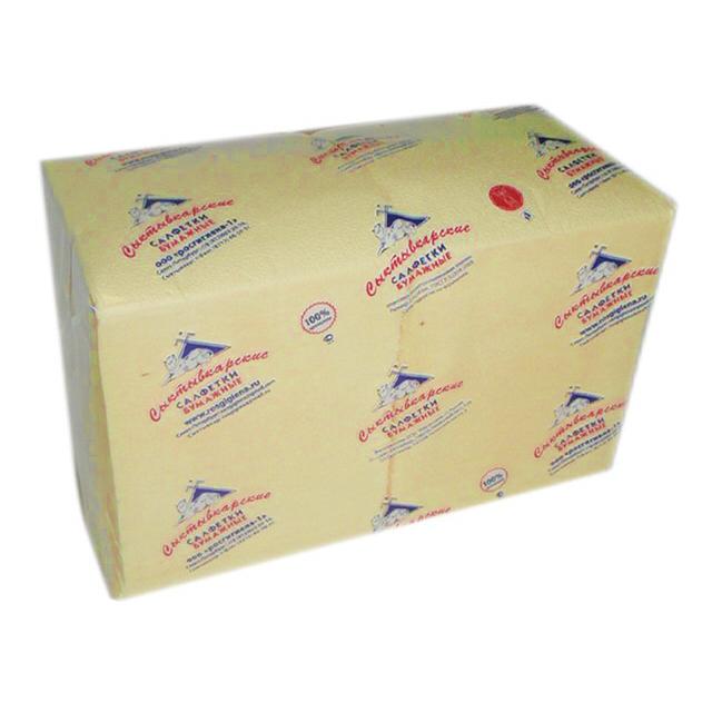 салфетки Брызги шампанского 1-слойные 24х24см 400шт