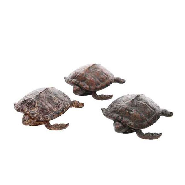фигура садовая Черепаха 14х11,5х5см полистоун в асс-те цена