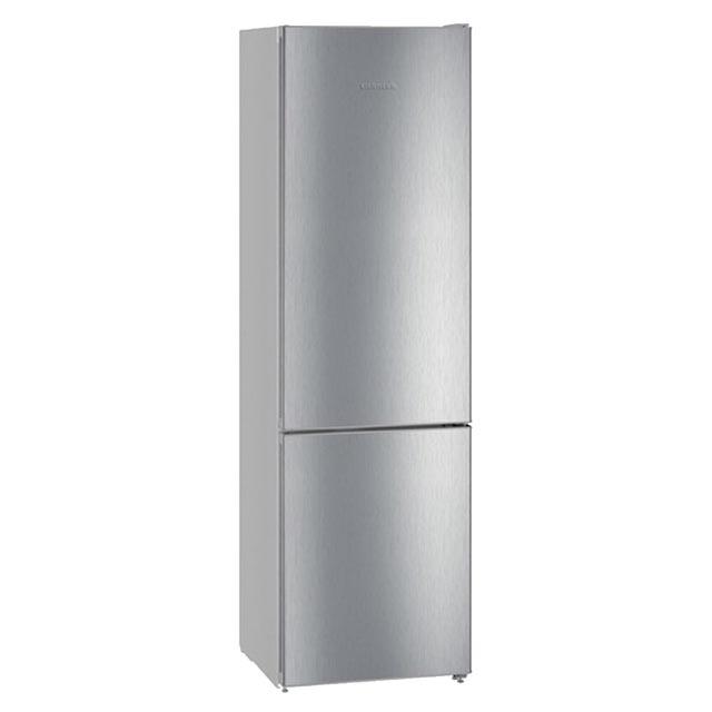 холодильник LIEBHERR CNPEL 4813-20 2кам.243+95л 201х60х66см сереб. двухкамерный холодильник liebherr cnpel 4313
