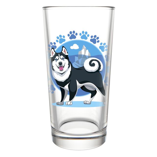 набор стаканов Символ года 6шт. 250 мл стекло в ассортименте безалкогольные напитки
