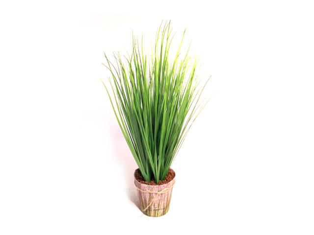 растение искусственное Трава в кашпо 45см искусвенная трава в спб