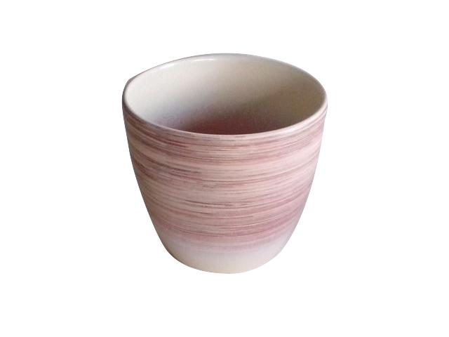 горшок керамический с поддоном 2,4л