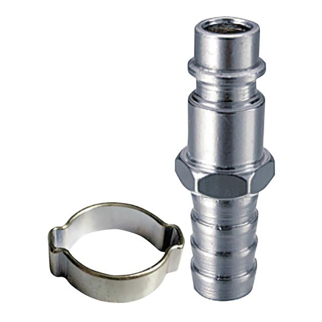 переходник FUBAG рапид-штуцер елочка 6мм с обжимным кольцом 6х11мм 1шт