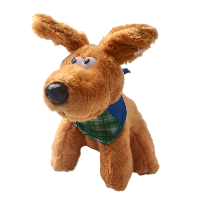 игрушка мягкая собачка Дюк 11см мягкая игрушка собачка мила в платье 23см цвет бежевый