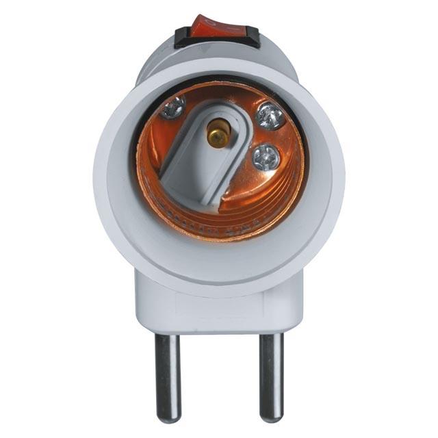 патрон электрический NAVIGATOR переходник с розетки на Е27