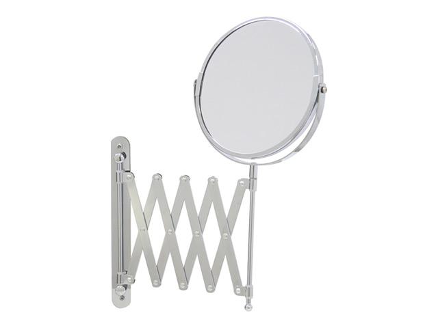 зеркало косметическое AXENTIA17 см настенное на вытягивающей зеркало настольное axentia bonja на ножке с увеличением