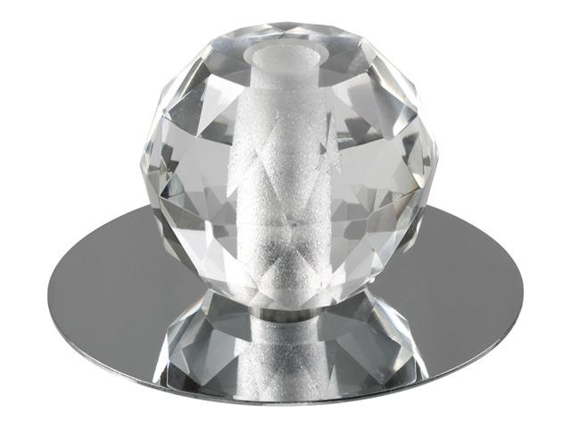 светильник встраиваемый CRYST, G4, 20Вт, хром yo zuri f1052 hbk cryst 3d minnow 130mm