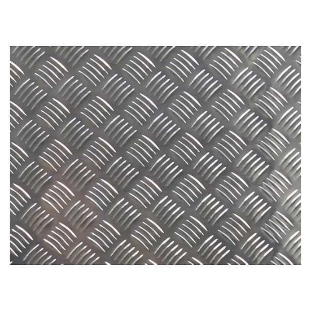 лист алюминиевый рифленый без покрытия 1,5х250х500мм