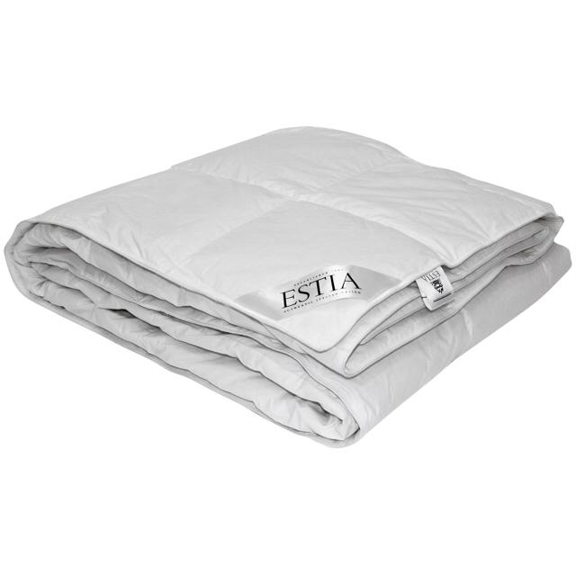 одеяло ESTIA Аоста 140х200см пух 100%, арт.1014.00003 одеяло египетский хлопок 1 5 сп размер 140х200см наполнитель 60
