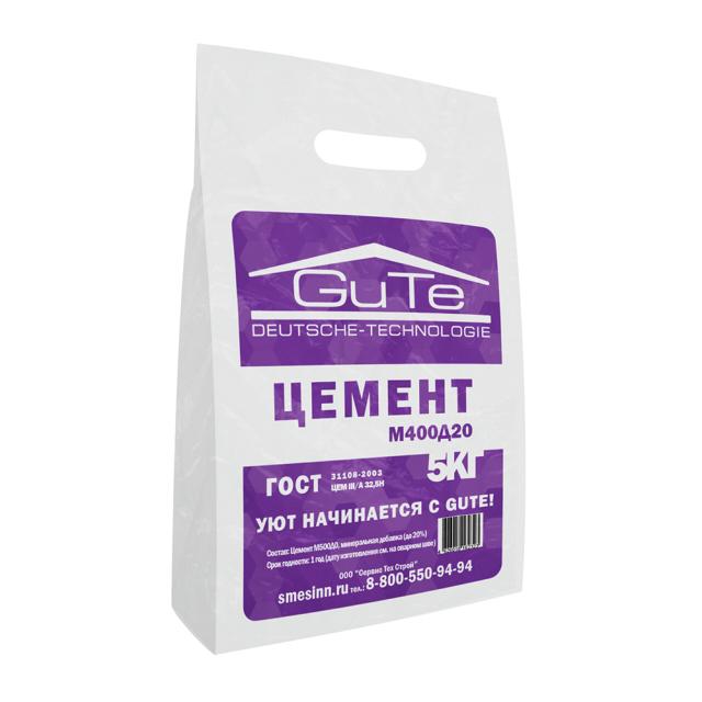 смесь цементов М400Д20 и минеральной добавки 5кг