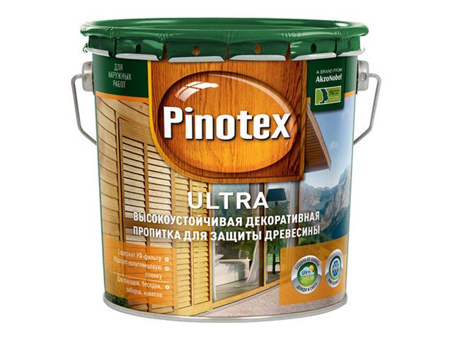средство деревозащитное PINOTEX Ultra 2,7л орех, арт.5197561