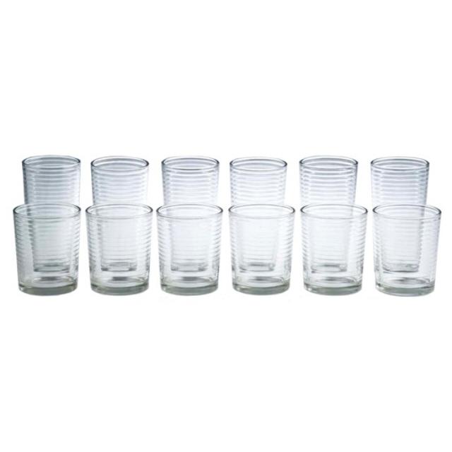 набор стаканов Base 12шт, стекло