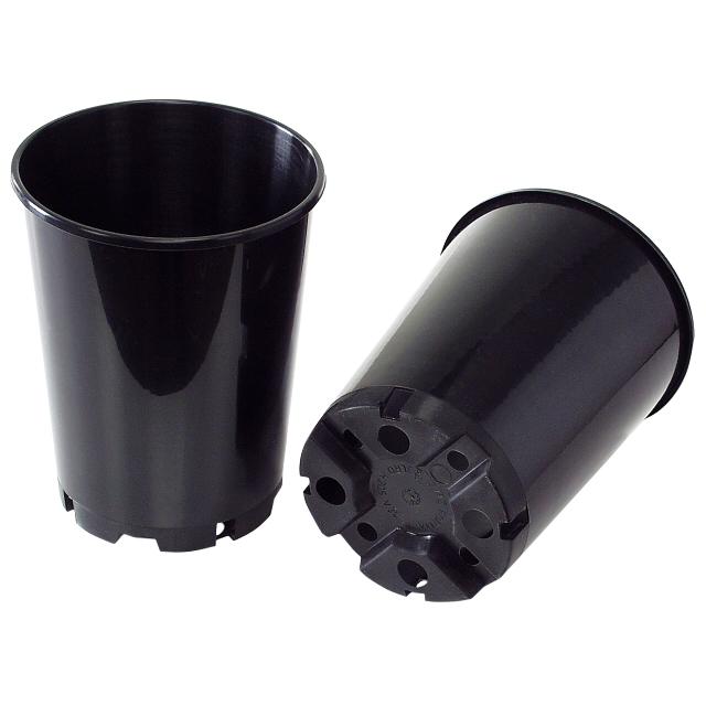 горшок пластиковый для рассады 4л h21см роз
