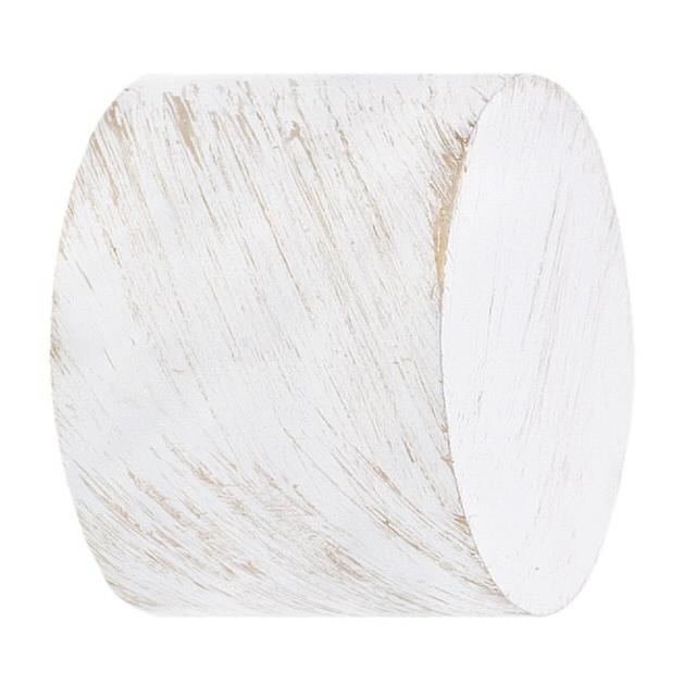 комплект наконечников ARTTEX 20мм заглушка 2шт белое золото ампир, арт.20.56.601